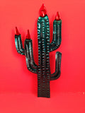 Mexican Tin Ornaments: Desert Plants