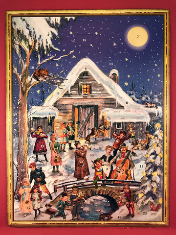 Advent Calendar : Victorian Cabin