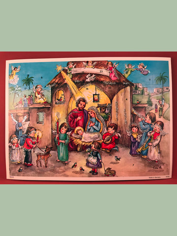 Advent Calendar : Blessed Nativity