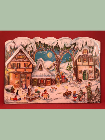 Advent Calendar : Snowy Houses
