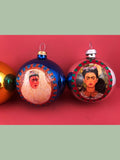 Mexican Glass Ornaments: Frida