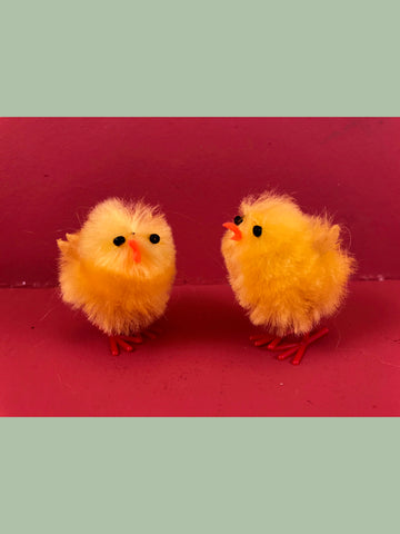 Chenille Chicks from Germany