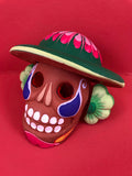Painted Clay Calavera