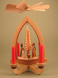 German Christmas Pyramid: Nativity