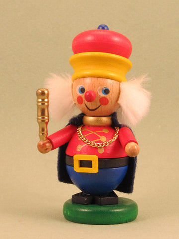 German Christmas Ornament: Red King