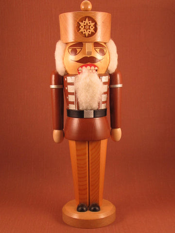 German Nutcracker: Vintage Natural King