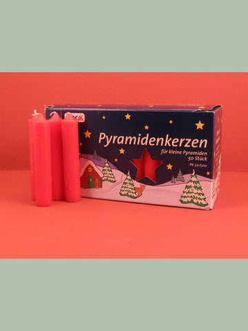 German Christmas Pyramid Candles