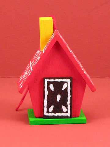 German Christmas Ornament: Gingerbread House