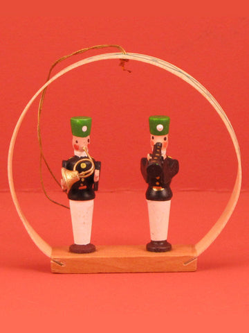 German Christmas Ornament: Vintage Arch Salt Miners