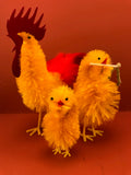 Chenille Chicks from Germany: Small