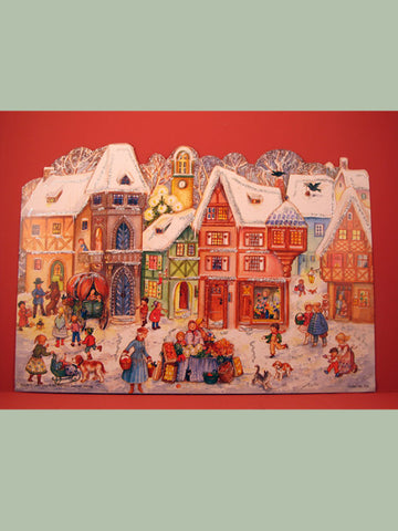 Advent Calendar : 3D Village Square