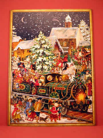 Advent Calendar : Victorian Train