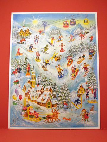 Advent Calendar : Ski Slope Fun