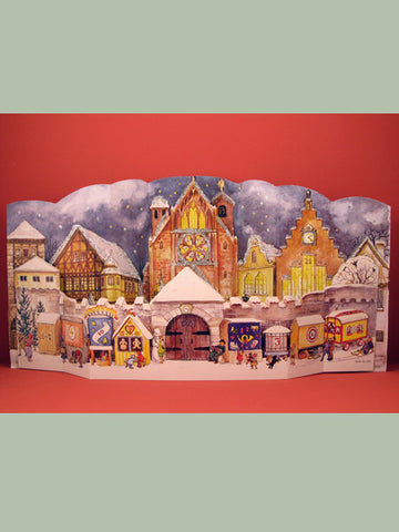 Advent Calendar : 3D Outdoor Market