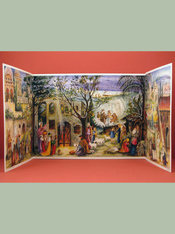 Advent Calendar : Nativity Panorama