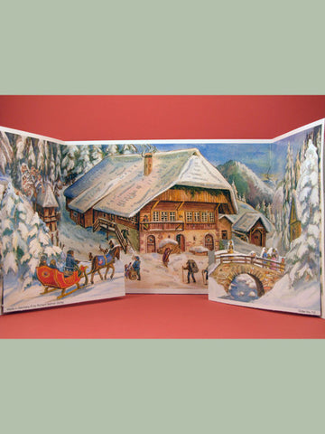 Advent Calendar : Winter Lodge