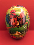 Handmade Egg Containers from Germany: Chicken Family