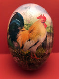 Handmade Egg Containers from Germany: Golden Rooster