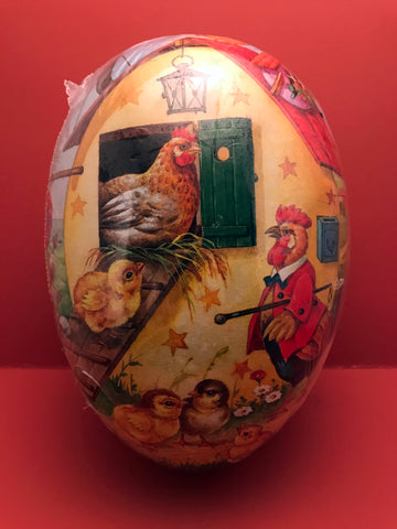 Fillable Paper Eggs from Germany: Hen House