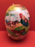 Fillable Paper Eggs from Germany: Small Ploughing Farmer