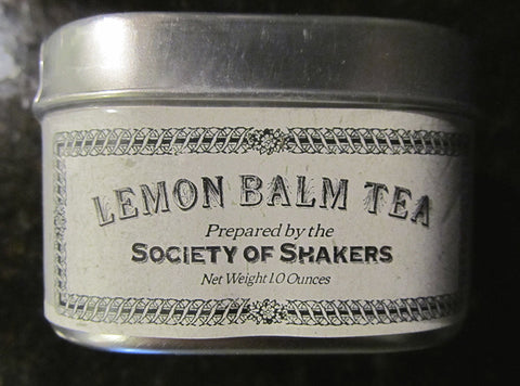 Shaker Herbal Teas: Lemon Balm