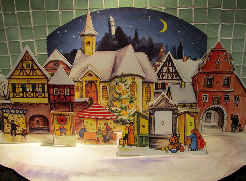 Advent Calendar : Moonlit Village