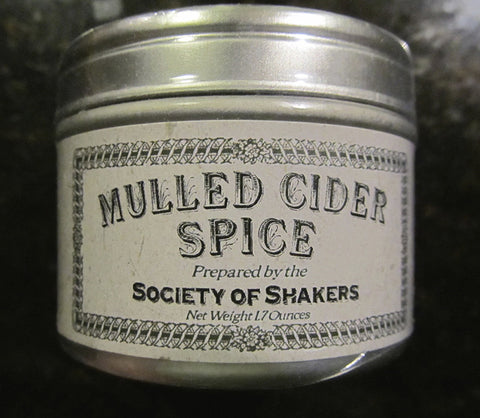 Shaker Culinary Herbs: Mulled Cider Spice