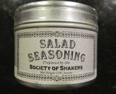 Shaker Culinary Herbs: Salad Seasoning