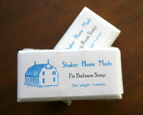 Homemade Soaps from the Sabbathday Lake Shakers