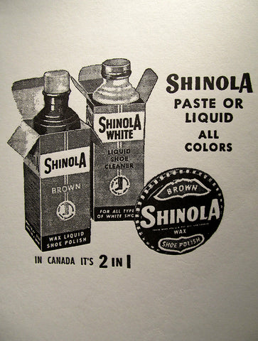 Shinola Card