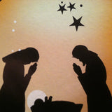 Advent Calendar : Silhouette Nativity