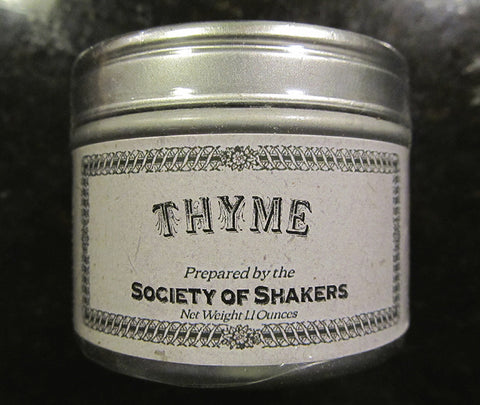 Shaker Culinary Herbs: Thyme