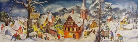 Advent Calendar : Village Panaroma