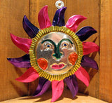 Mexican Tin Ornaments: Sun
