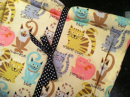 Millie's Potholders: Cartoon Cats (set of two)