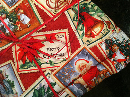 Millie's Potholders: Christmas Stamps (set of two)