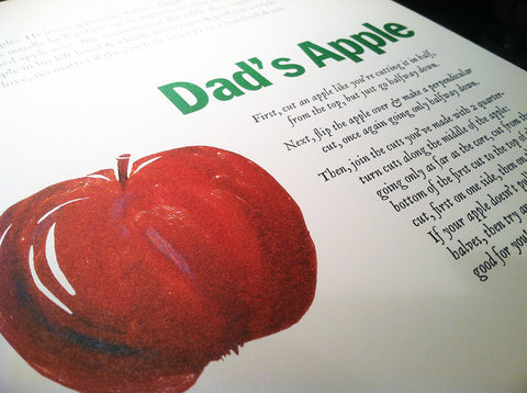 Dad's Apple by John Cutrone