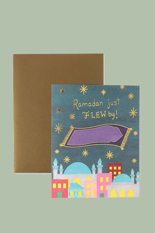 Ramadan & Eid al Fitr Card : Flew By