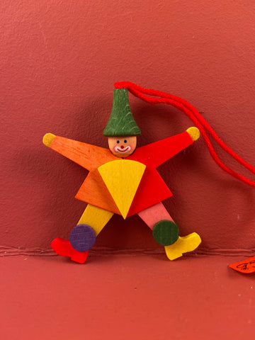 German Christmas Ornament: Jumping Jacks