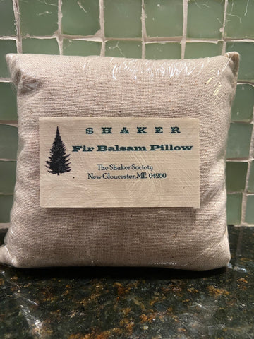 Fir Balsam Pillows from the Sabbathday Lake Shakers