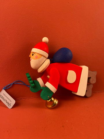 German Christmas Ornament: Santa