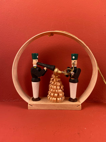 German Christmas Ornament: Seiffen Traditional Arch