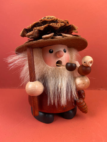 German Incense Smoker: Fir Cone Chap