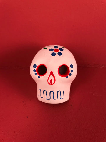 Calaveras in White
