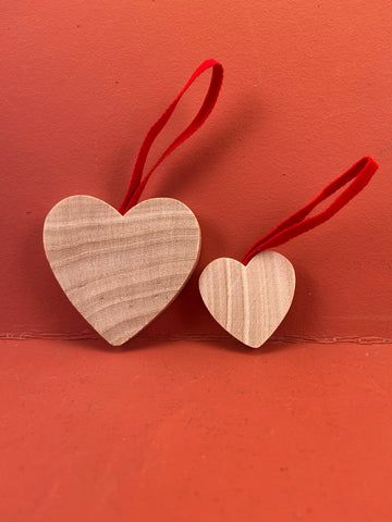 Swedish Christmas Ornament: Hearts