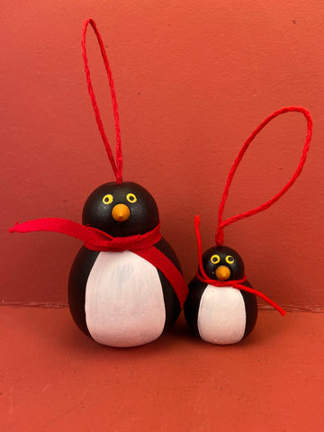 Swedish Christmas Ornament: Penguins