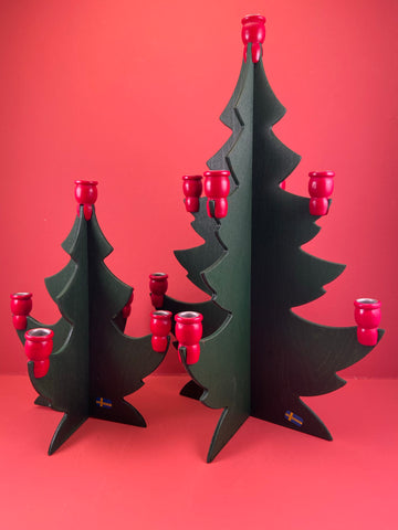 Swedish Christmas Decorations: Tree Candleholder