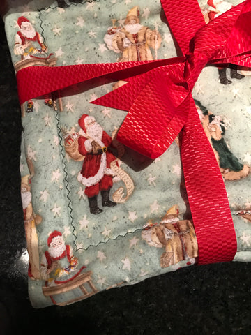 Millie's Potholders: Father Christmas (set of two)