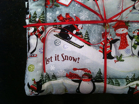 Millie's Potholders: Let it Snow (set of two)
