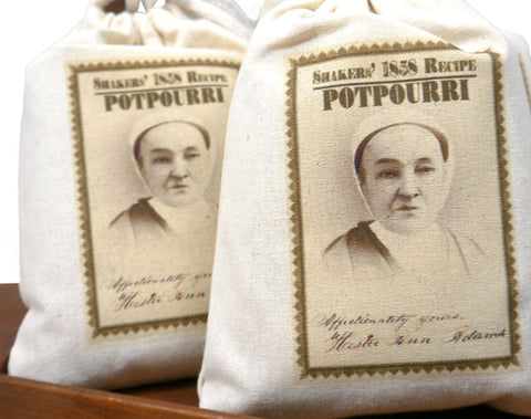 1858 Potpourri Sachet from the Sabbathday Lake Shakers